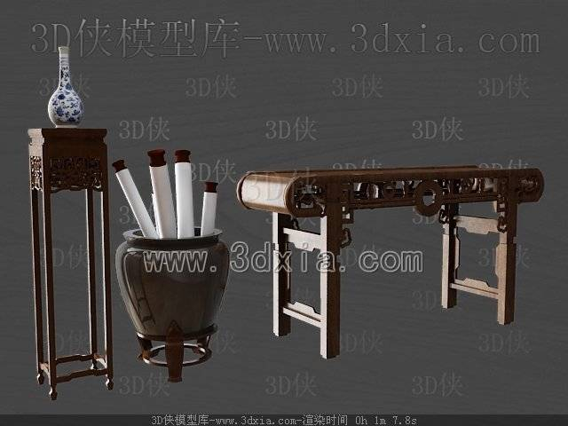 其它桌子-3dmax2009-2913D模型【ID:38526】