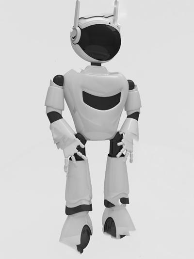 现代机器人3D模型【ID:720611179】