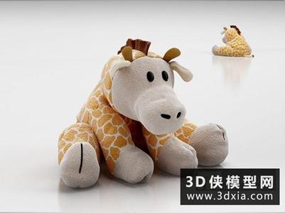 布娃娃国外3D模型【ID:129820917】