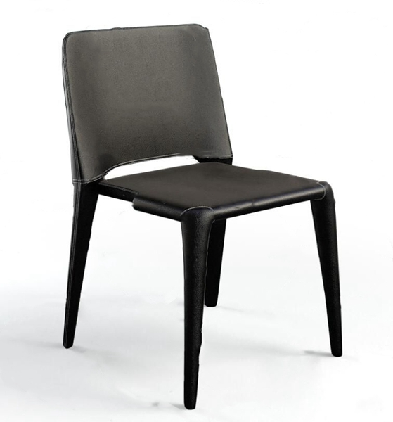 現代皮革單椅3D模型【ID:747289081】