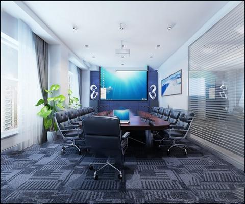会议室3D模型【ID:420603568】