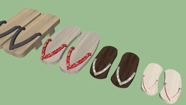 鏈睈日本木鞋涓嬮_getaSU模型【ID:439638066】