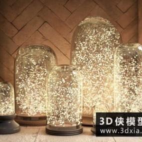 室外地灯地板灯国外3D模型【ID:929347028】