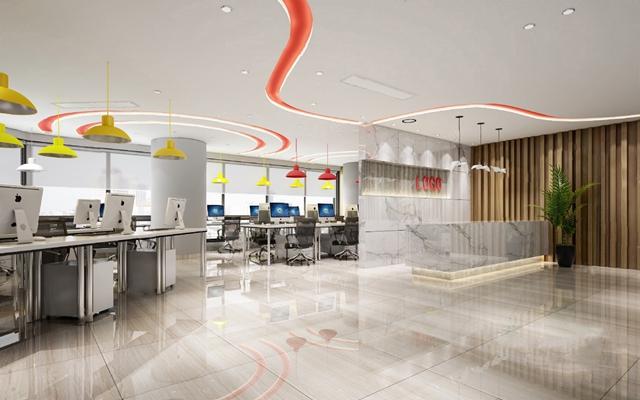 现代办公室3D模型【ID:220607873】