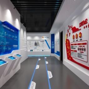 现代展厅3D模型【ID:328441038】