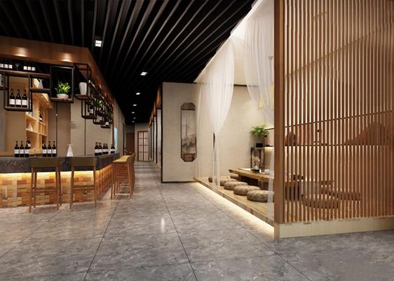 餐厅3D模型【ID:120014882】