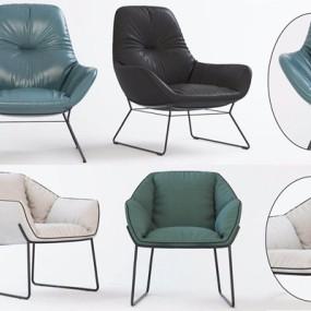 现代创意休闲椅3D模型【ID:227886435】