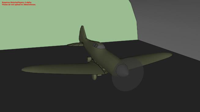 工作和易碎喷火速写物理3SU模型【ID:739647480】
