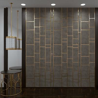 现代背景墙3D模型【ID:326231550】