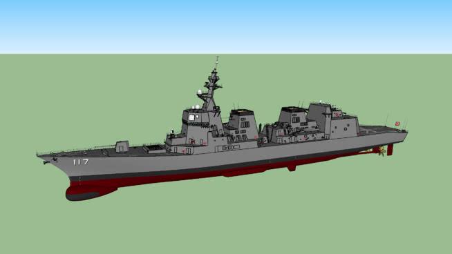 JMSDFSU模型【ID:139652349】