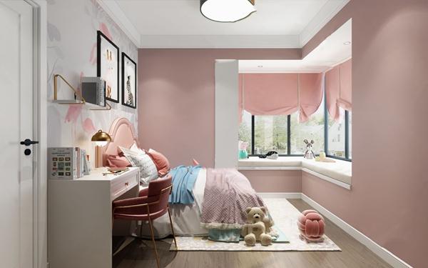 北欧女儿房公主房3D模型【ID:547855773】