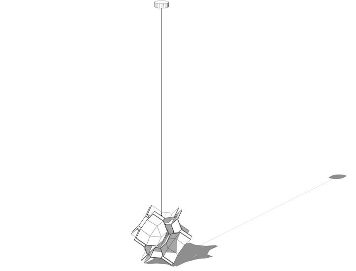 吊灯SU模型【ID:336370812】