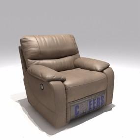 现代按摩椅单人沙发Q13D模型【ID:928211607】