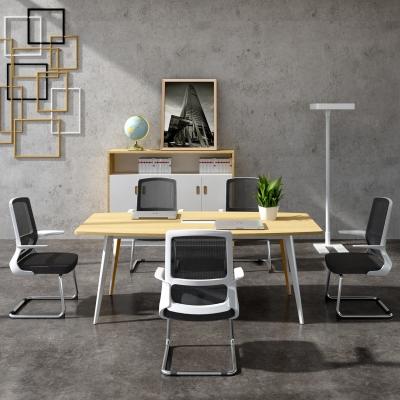 現代會議桌洽談桌椅組合3D模型【ID:228425328】