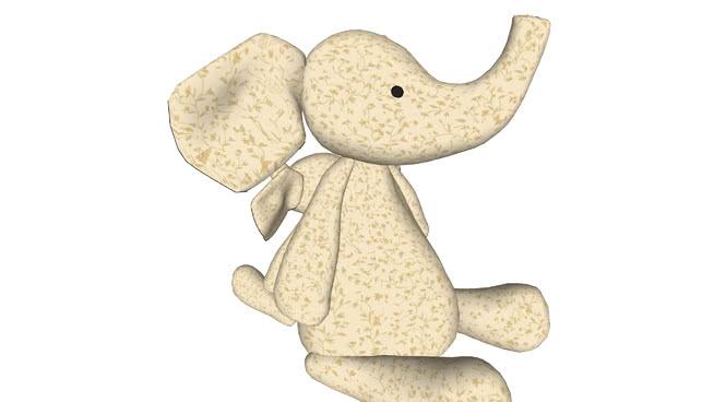 大象玩具SU模型【ID:639666792】