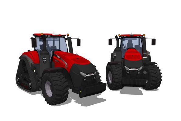 現代農用拖拉機車SU模型【ID:847861187】