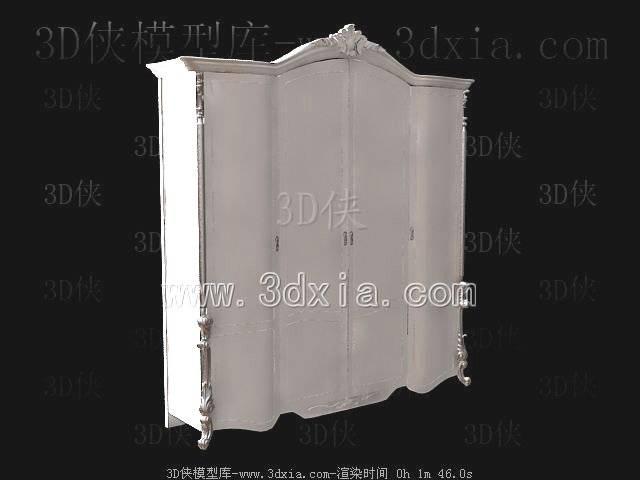 衣柜-版本2009-963D模型【ID:40103】