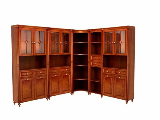 美式书柜-HB3D模型【ID:928203580】