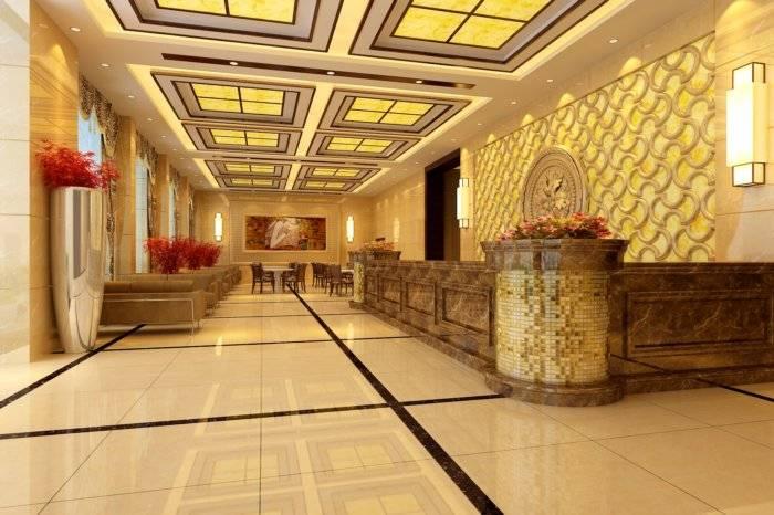 3D酒店大堂设计效果图3D模型【ID:40747】