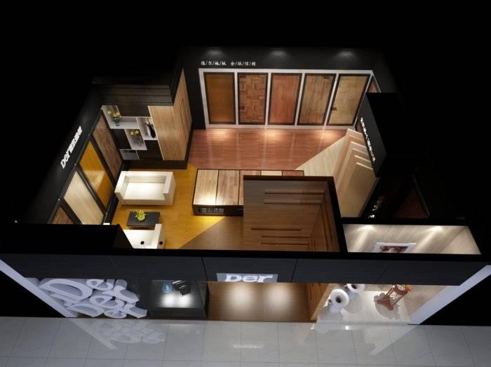 德尔地板3D模型【ID:40850】