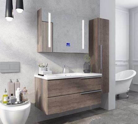 现代浴室柜3D模型【ID:128218738】