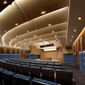 现代大型会议厅3D模型【ID:728301849】