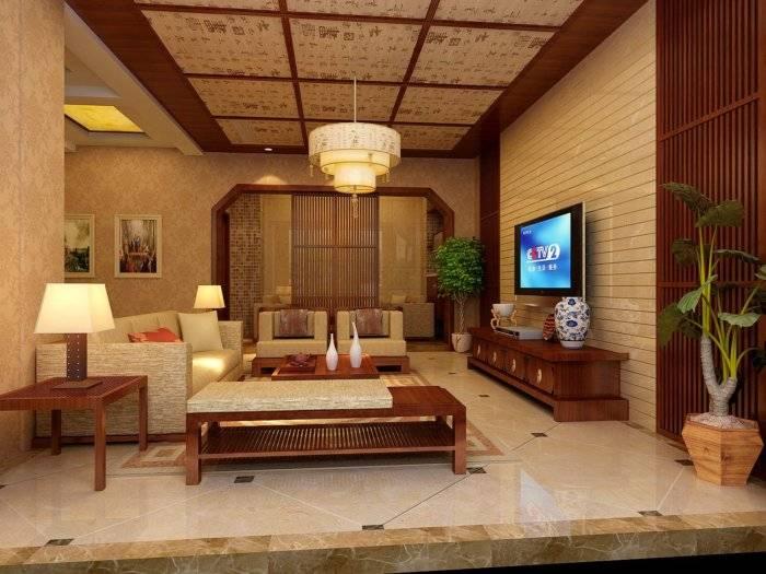 中式客厅3D模型【ID:41170】