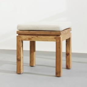 新中式原木色木艺凳子3D模型【ID:414920304】