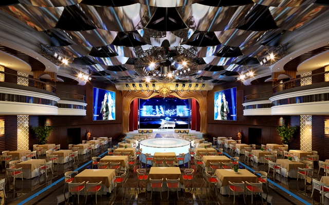 现代酒店宴会厅3D模型【ID:415072427】