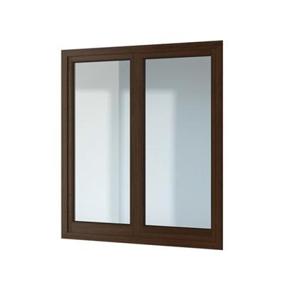 现代长方形木艺平开窗3D模型【ID:415251958】