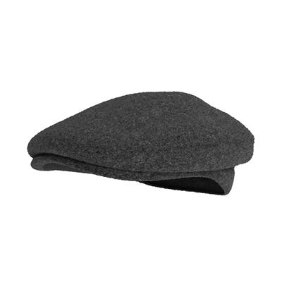 黑色毛呢帽子3D模型【ID:415257527】