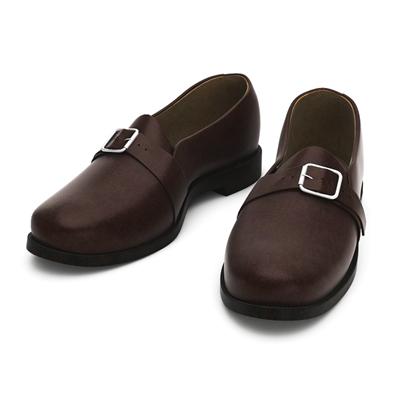 棕色皮质鞋子3D模型【ID:415257645】