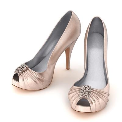 皮革鞋子3D模型【ID:415257664】