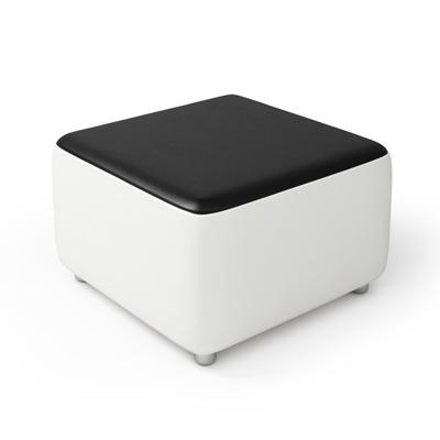 现代长方形皮质沙发凳3D模型【ID:415262295】