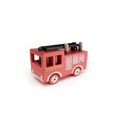 红色塑料玩具汽车3D模型【ID:415262886】