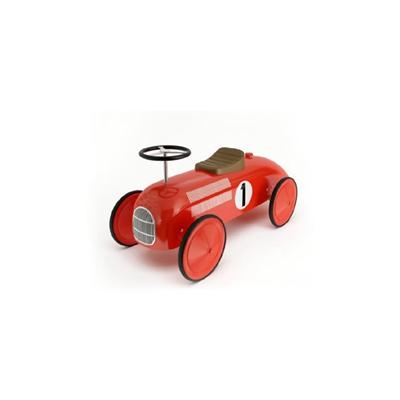 红色塑料玩具汽车3D模型【ID:415263870】