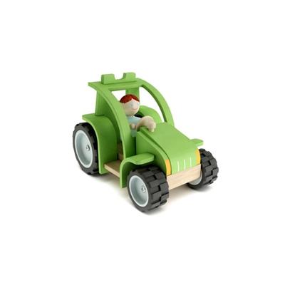 绿色塑料玩具汽车3D模型【ID:415264808】