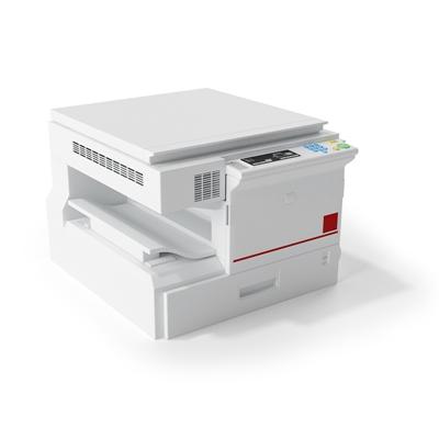 白色打印机3D模型【ID:415275328】