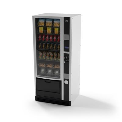 黑色自动售卖机3D模型【ID:415276014】