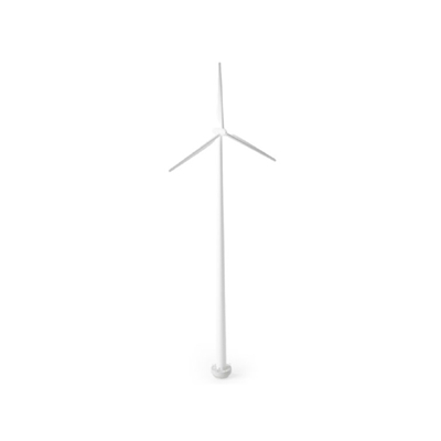 白色风力发电机3D模型【ID:415276217】