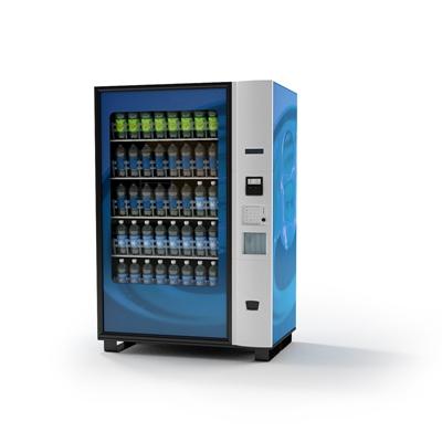 蓝色饮料机3D模型【ID:415276224】