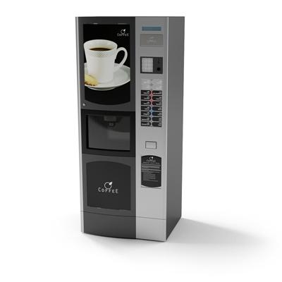 黑色饮料机3D模型【ID:415276242】