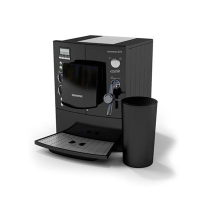 黑色饮料机3D模型【ID:415278258】