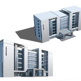 户外办公楼103D模型【ID:415359555】