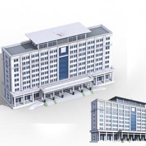 户外办公楼153D模型【ID:415359564】