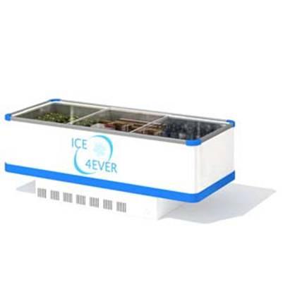 白色冰柜3D模型【ID:415417491】
