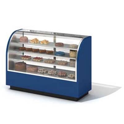 蓝色冰柜3D模型【ID:415419451】
