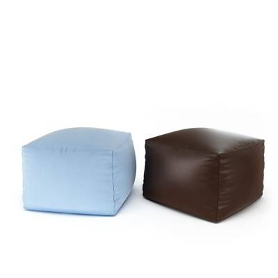 现代皮质沙发凳3D模型【ID:415438280】