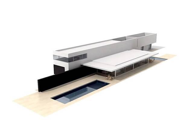 户外小型办公楼13D模型【ID:415471524】