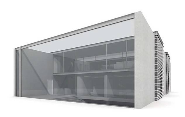 户外小型办公楼13D模型【ID:415471527】